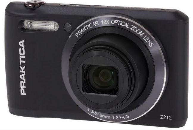 Digital camera PRAKTICA  luxmedia Z212 black Digitālā kamera