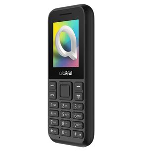 Alcatel 1066D Dual SIM Black LV LT EE 3363 Mobilais Telefons
