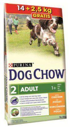Purina Dog Chow Adult Kurczak 16.5kg (14+2.5kg) barība suņiem