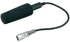 Panasonic XLR Mono Mikrophone Pro Sporta kameru aksesuāri
