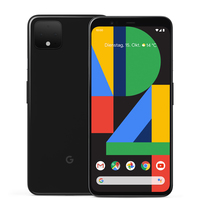Google Pixel 4 64GB Just Black Mobilais Telefons