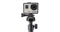 Mic Stand Mount Sporta kameru aksesuāri