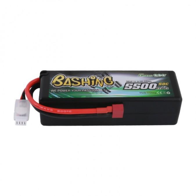 Gens Ace 5500mAh 11.1V 50C 3S1P HardCase 15 T-plug