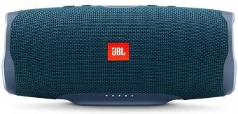 JBL Charge 4, Portable Bluetooth speaker, 30W, Waterproof, 7500mAh, Blue pārnēsājamais skaļrunis