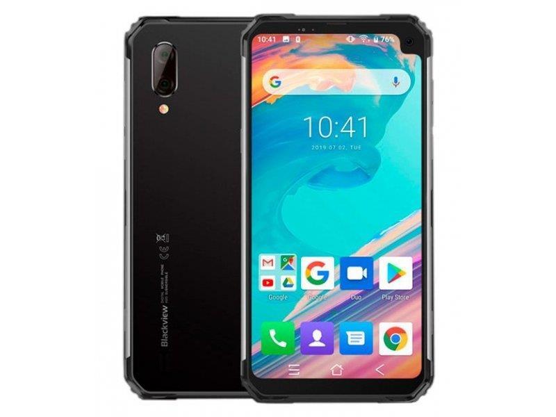 Blackview BV6100 Dual Sim 3GB/16GB  Silver Mobilais Telefons
