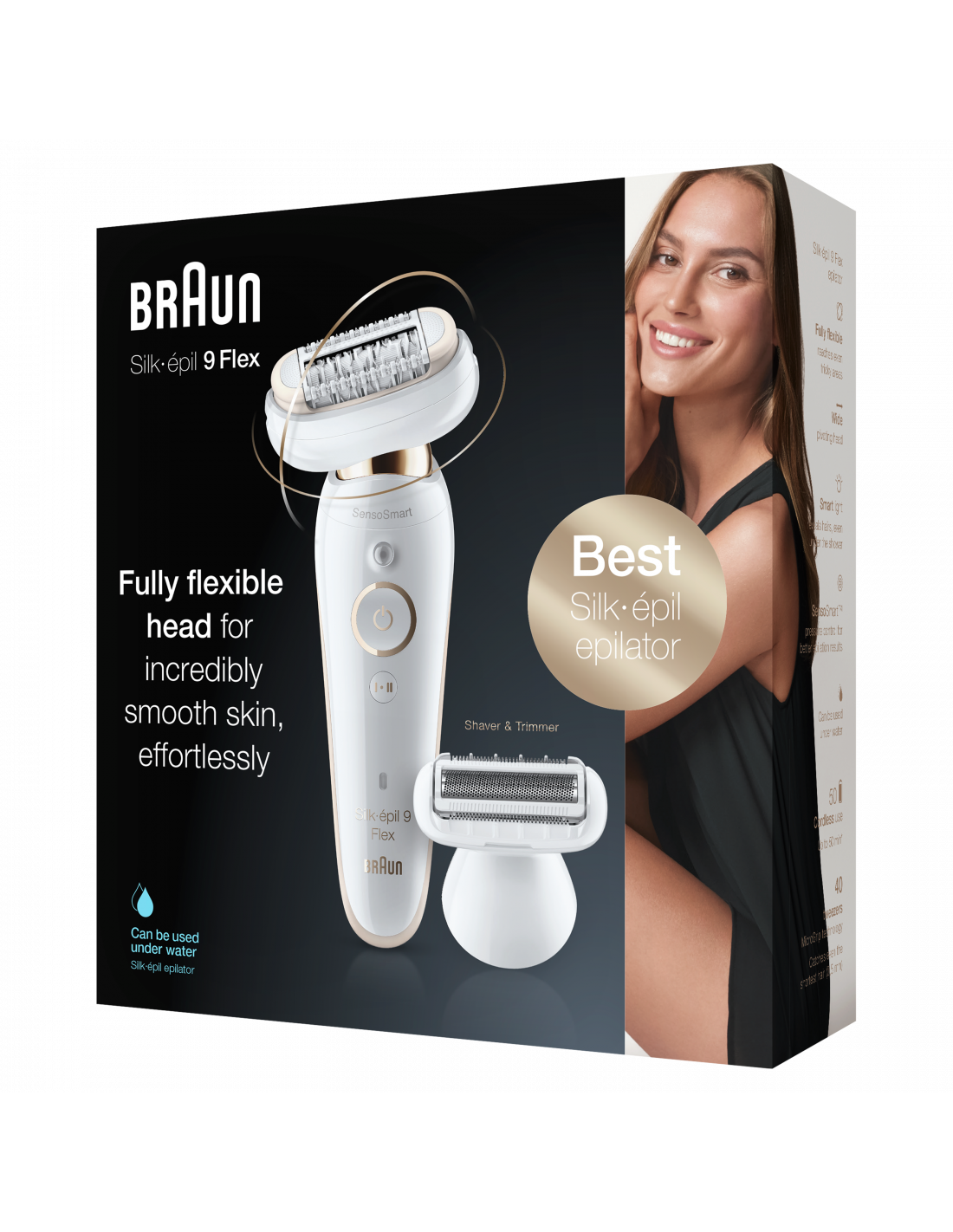Braun Silk-epil 9 Flex SES 9002 3D Epilators