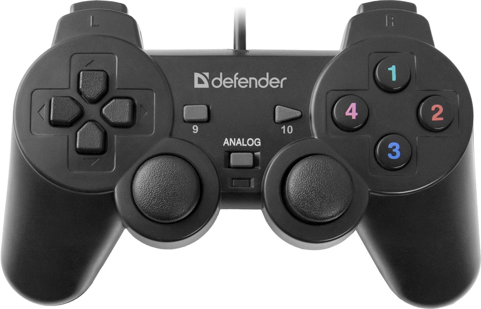 DEFENDER Wired gamepad Omega USB 12 spēļu konsoles gampad