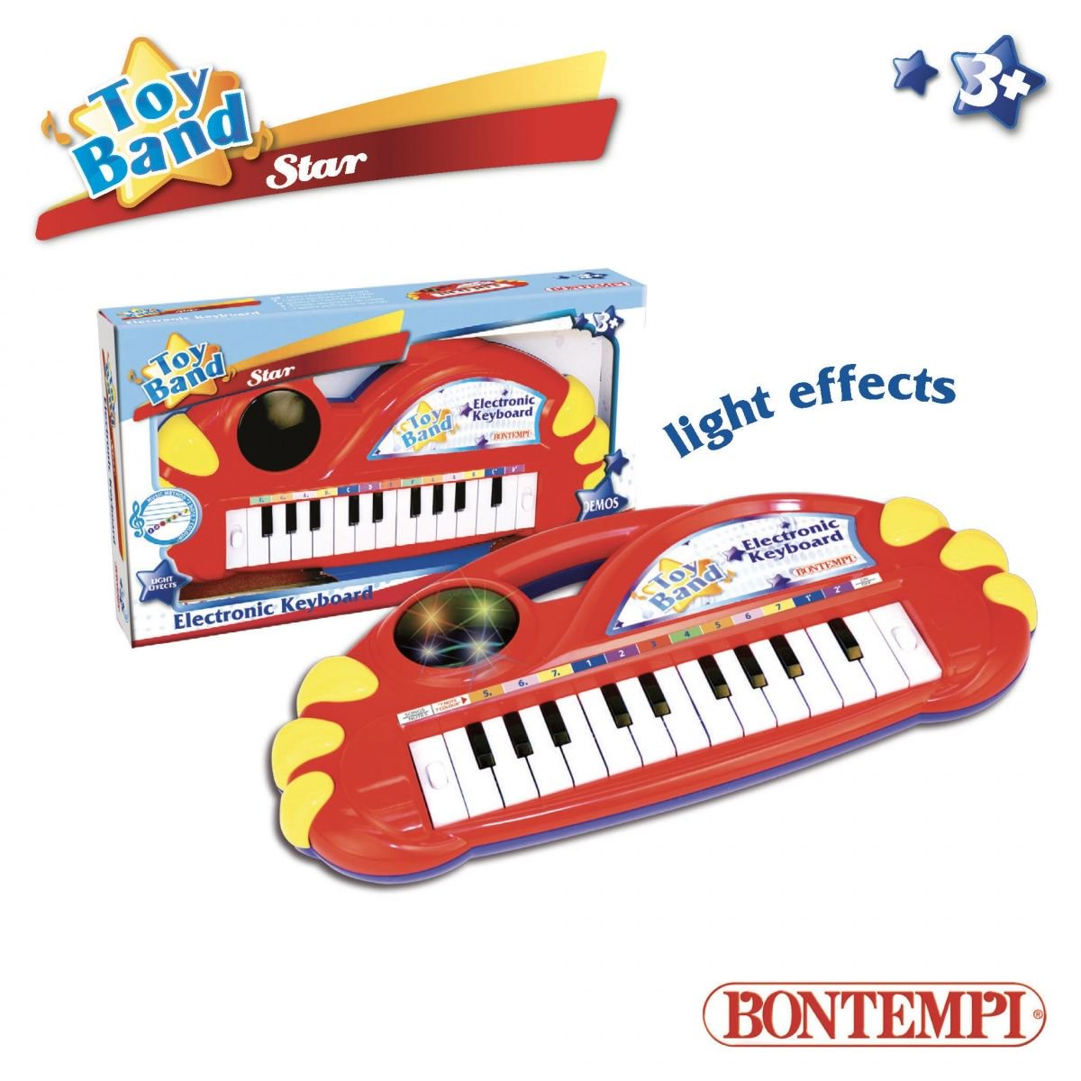 Dante Bontempi Star 22 Key elektoronic keybord with flashing ball (041-33117) 041-33117