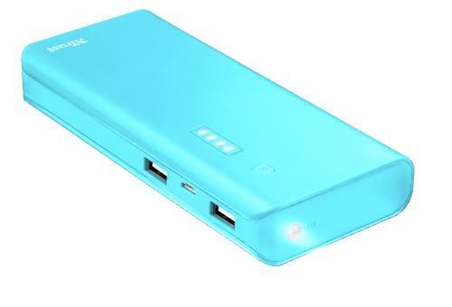Trust Primo 10000 mAh blue Powerbank, mobilā uzlādes iekārta