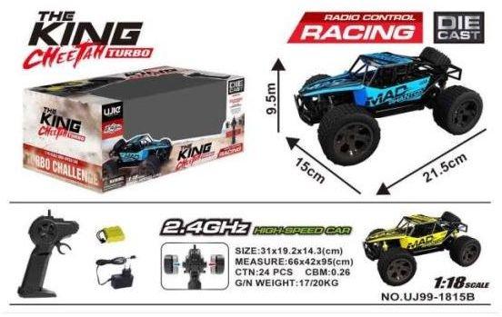 Dromader RC car + package (130-1155934) Radiovadāmā rotaļlieta