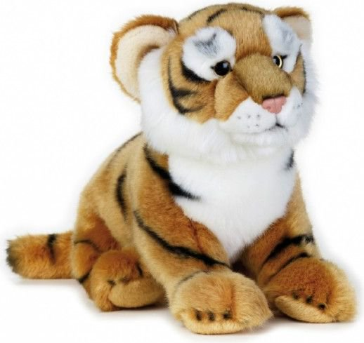 Dante Plush National Geographic Tiger brown 25 cm (003-70745)