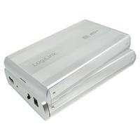 LogiLink  8.9cm (3,5)   USB 2.0/ IDE bl Datora korpuss
