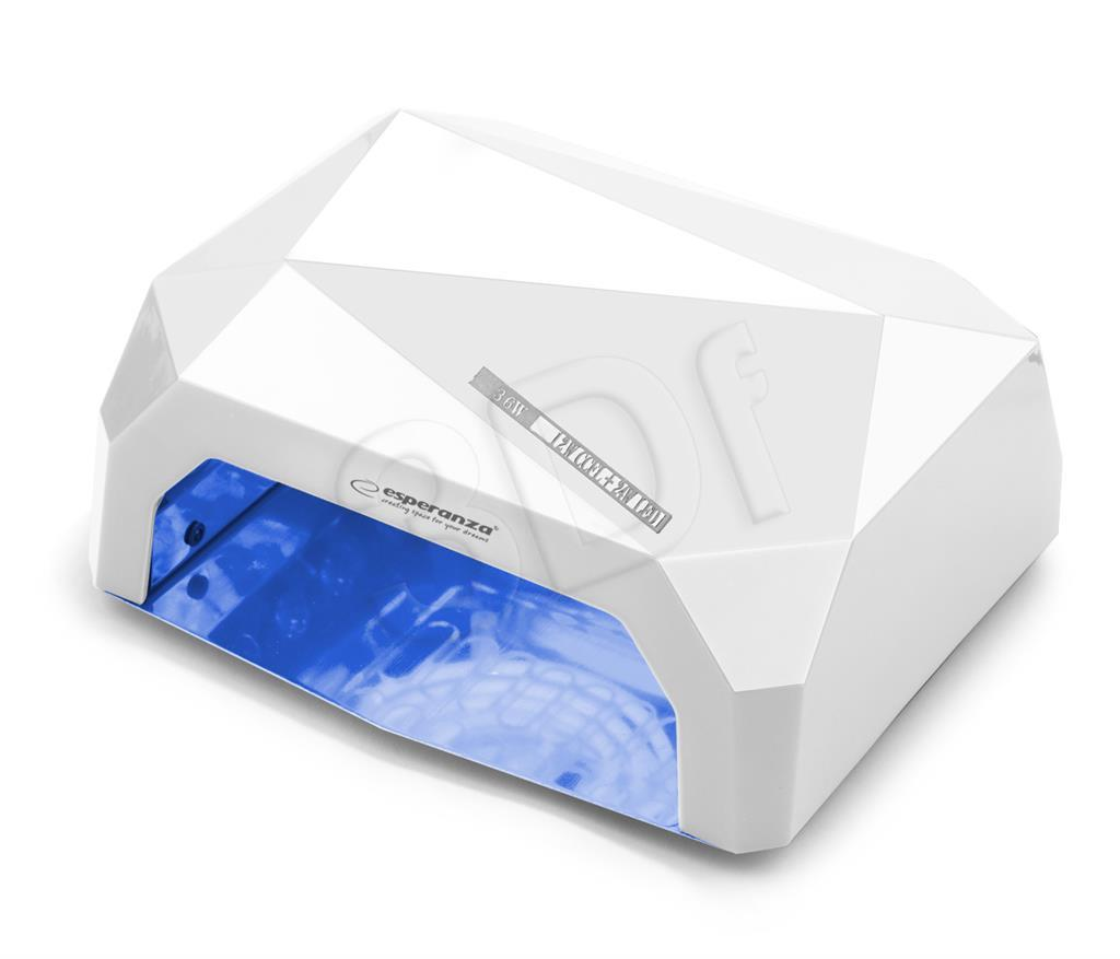 Esperanza EBN002W UV LAMP FOR CURING HYBRID NAIL POLISHES AND GELS - ONYX