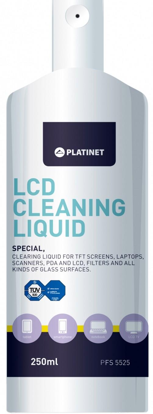Platinet šķīdums LCD ekrānu tīrīšanai PFS5525 tīrīšanas līdzeklis