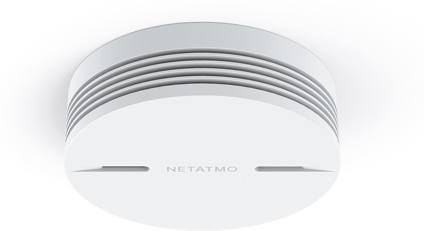 Netatmo Smart Smoke Alarm  85dB Siren, Wi-fi, Bluetooth 3700730502269
