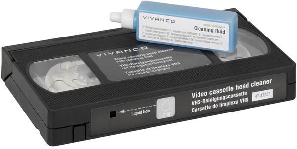Vivanco VHS galviņas tīrīšanas kasete (39763) 4008928397635 tīrīšanas līdzeklis