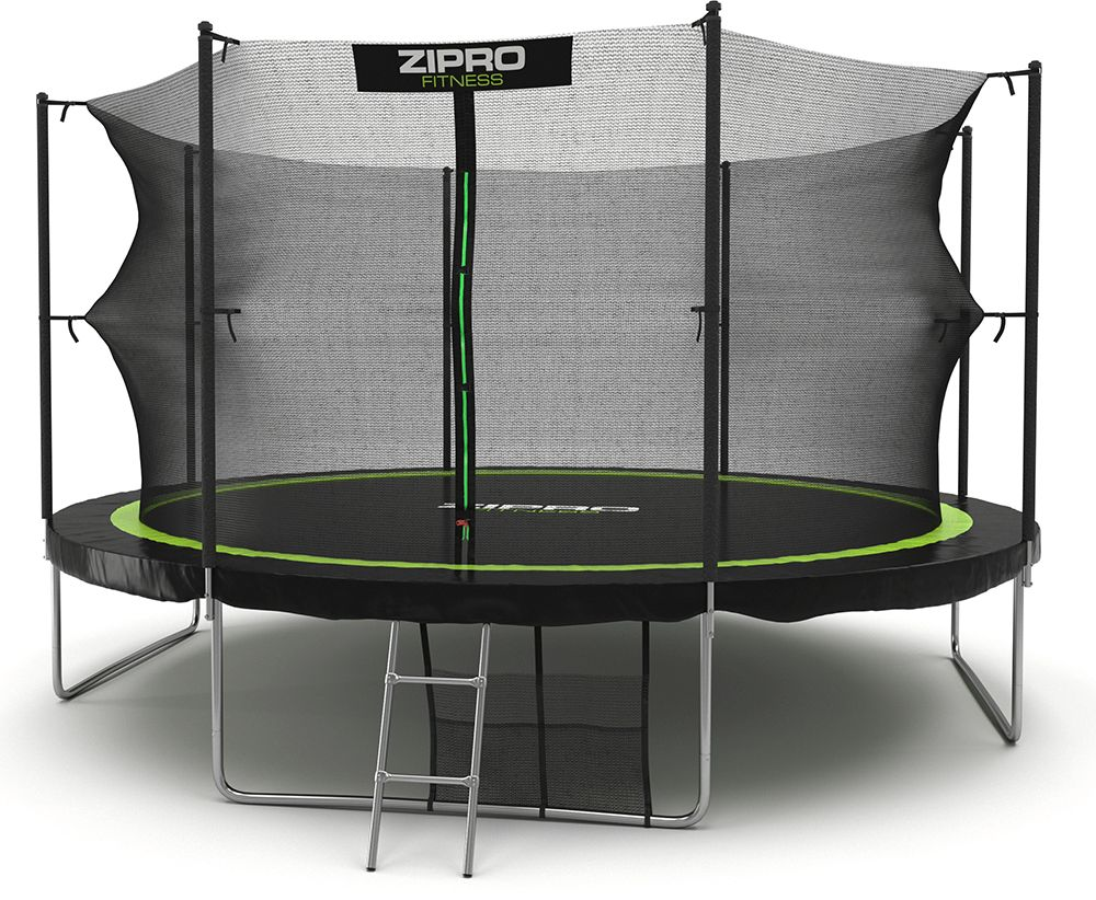 Zipro Garden trampoline with internal mesh 14FT 435cm + FREE shoe bag! Batuts