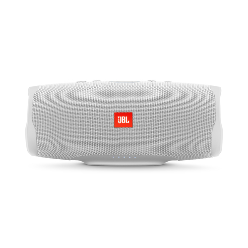 JBL Charge 4, Portable Bluetooth speaker, 30W, Waterproof, 7500mAh, White pārnēsājamais skaļrunis