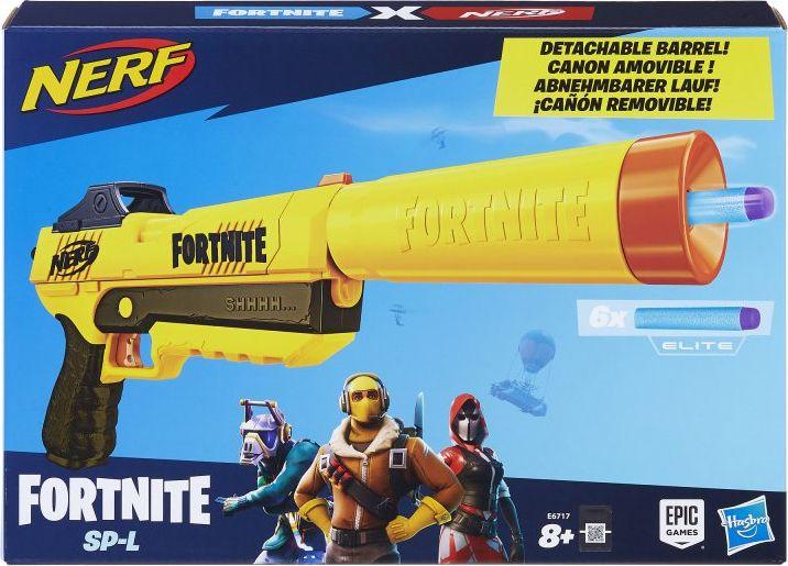 Nerf Fortnite Sneaky Springer SP-L (E6717) Rotaļu ieroči