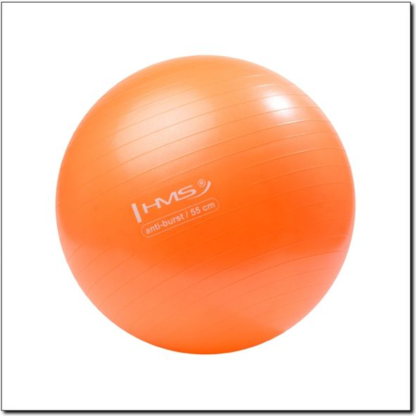 HMS Exercise ball Anti-Burst 55cm orange (YB02) bumba