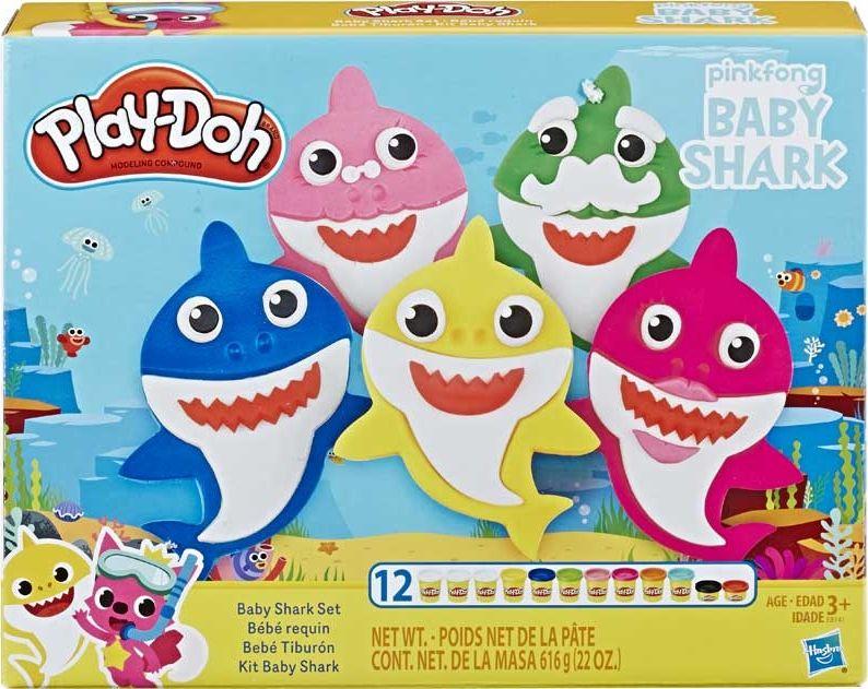 Play-Doh Ciastolina Baby Shark (E8141) konstruktors