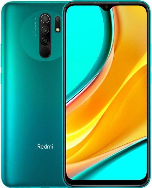 Xiaomi Redmi 9 3GB/32GB Ocean Green Mobilais Telefons