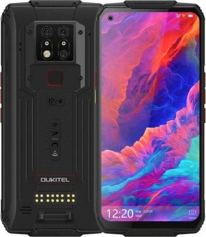 Smartfon Oukitel WP7 128 GB Dual SIM Czarny  (oukitel_20200713124624) oukitel_20200713124624 Mobilais Telefons