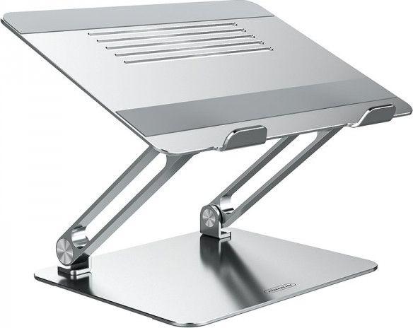 Nillkin ProDeskAdjustable LaptopStand - Aluminum Laptop Stand (Silver) portatīvā datora dzesētājs, paliknis