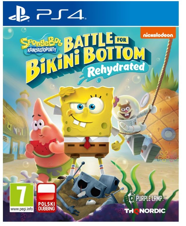 SpongeBob Square Pants Battle for Bikini Bottom Rehydrated -9120080075383 PS4
