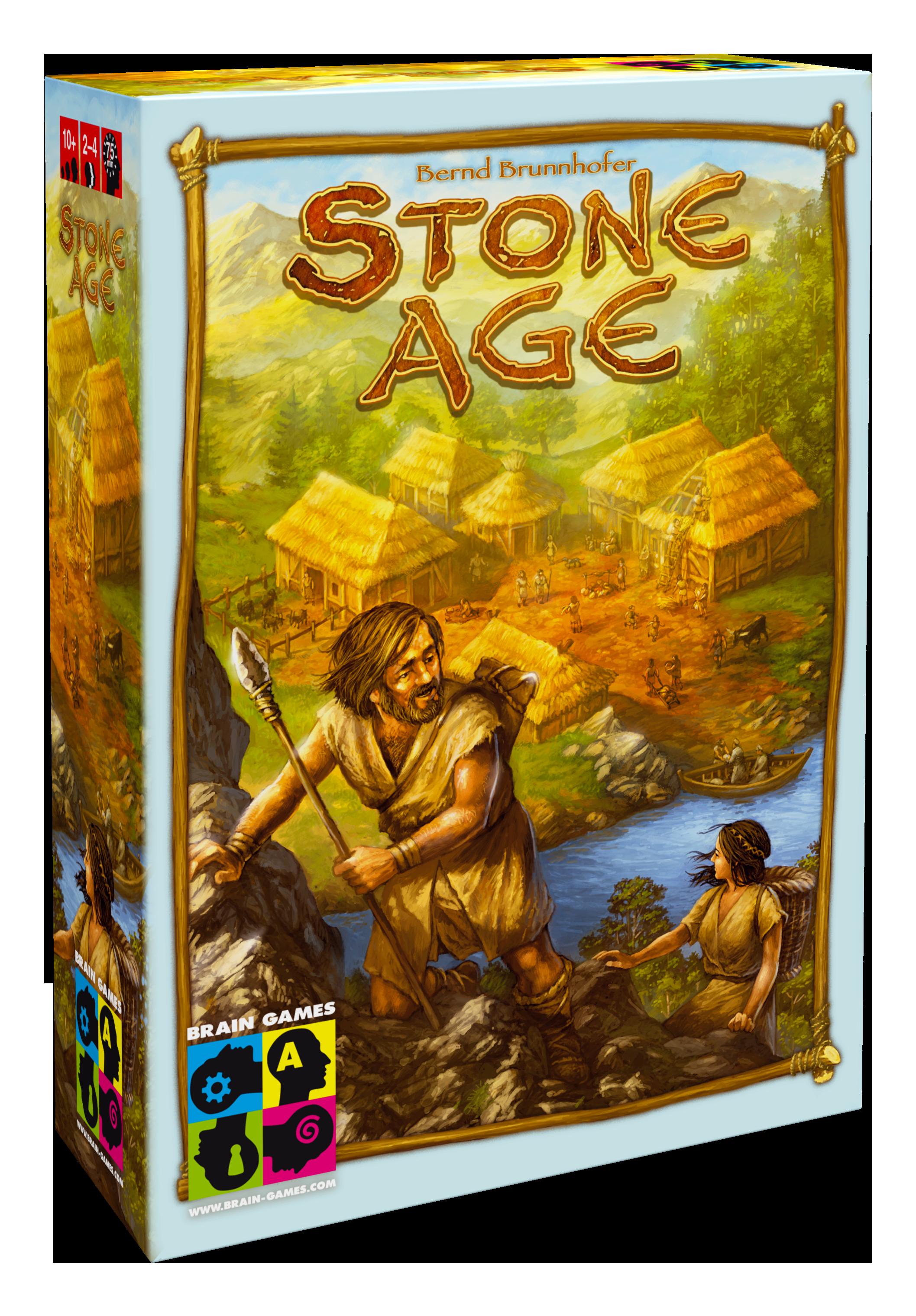 Brain Games Stone Age Baltic galda spēle