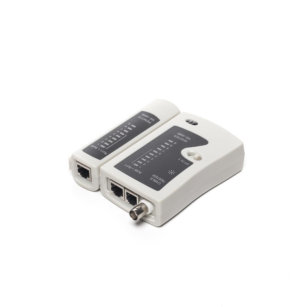 Netrack network cable tester RJ11/RJ12/RJ45 BNC/UTP/FTP/STP Serveru aksesuāri