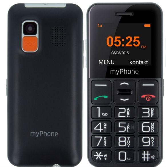 MyPhone HALO Easy black Mobilais Telefons