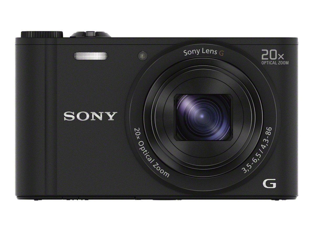 Sony DSC-WX350 black    18,2Mpix,20xOZ,fullHD Digitālā kamera