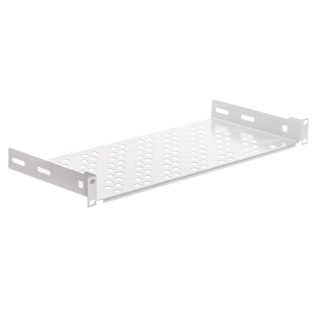 Netrack equipment shelf 19'', 1U/200mm, grey Serveru aksesuāri