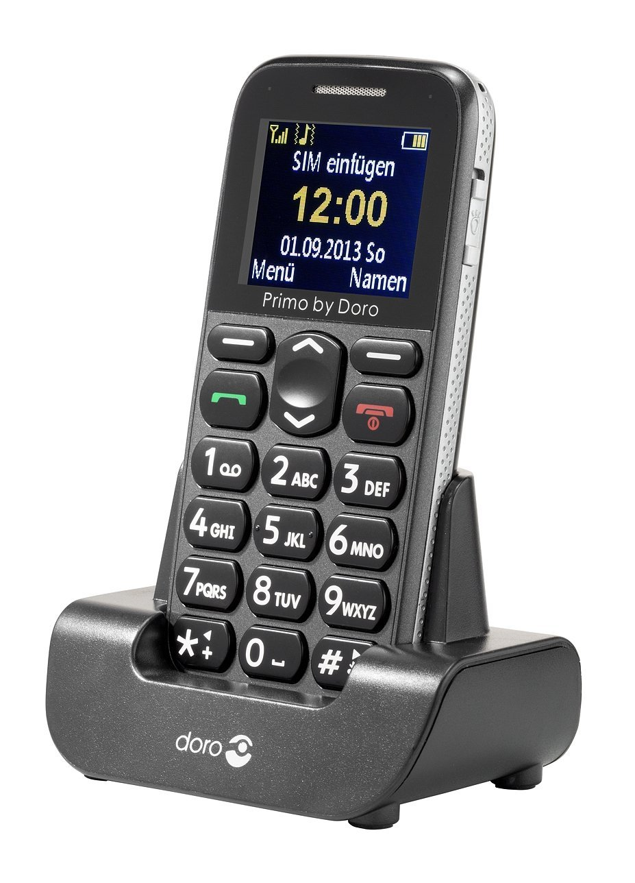 Doro Primo 215 grey Mobilais Telefons