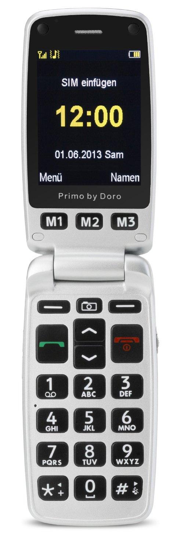 Doro Primo 413, Grosztastenhany, black Mobilais Telefons