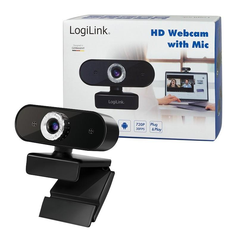 Logilink HD USB webcam with microphone web kamera