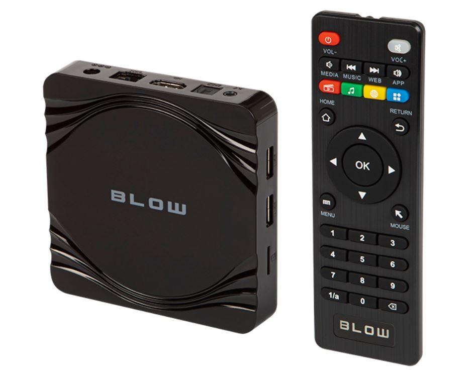 BLOW Android TV BOX BLUETOOTH 77-302# multimēdiju atskaņotājs