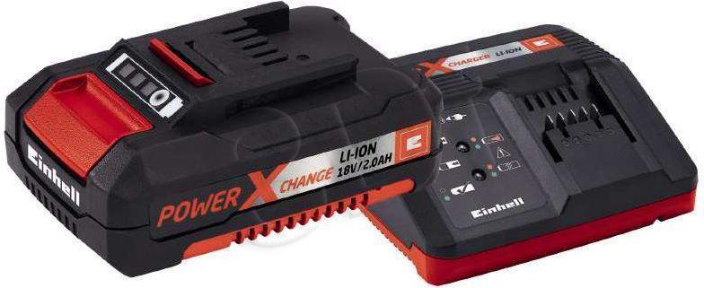 Einhell 18V 2.0 Ah Power X-Change Starter Kit Akku und Ladegerat