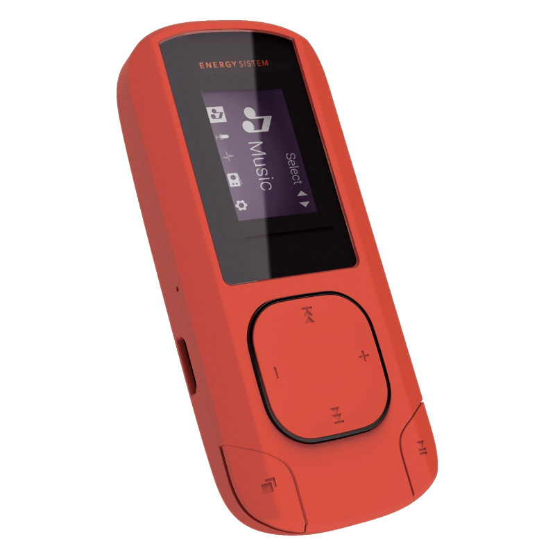 Energy Sistem MP3 Clip Coral (8 GB, Clip, FM Radio and microSD) MP3 atskaņotājs