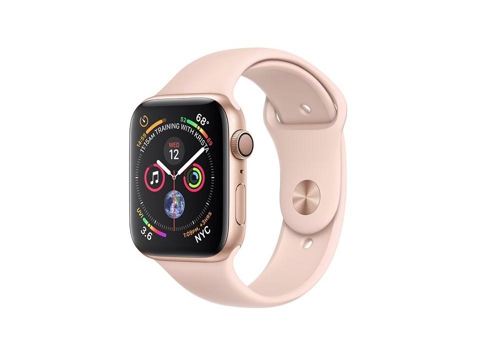 Apple Watch Series 4 GPS 40mm Gold Alu Pink Sport Band Viedais pulkstenis, smartwatch