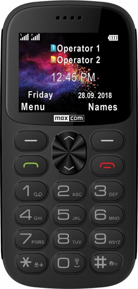 GSM Phone MM 471 grey MAXCOMMM471BBGREY Mobilais Telefons