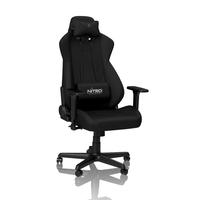 Nitro Concepts S300 Gaming Stuhl - Stealth Black datorkrēsls, spēļukrēsls