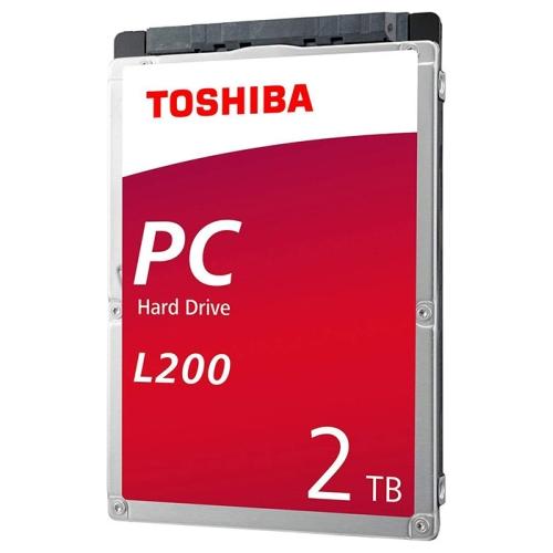 Toshiba L200, 2.5'', 2TB, SATA, 5400RPM, 128MB cache, BOX cietais disks