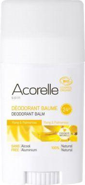 Acorelle deodorant stick - ylang and palmarosa 40g