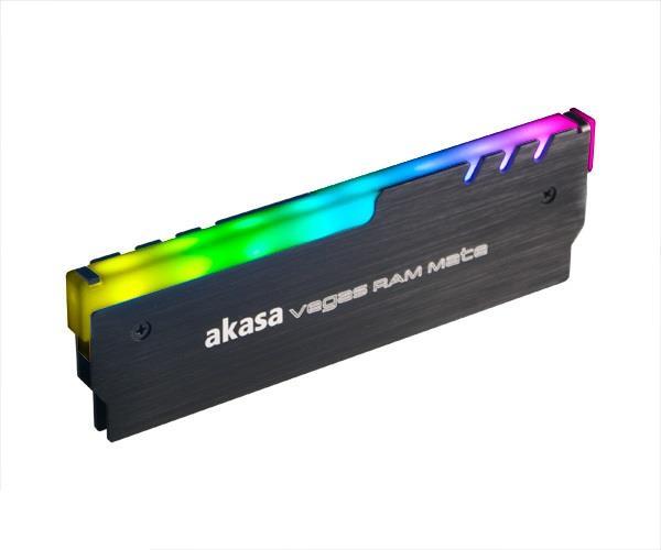 Akasa Addressable RGB RAM LED KIT Vegas Mate aksesuārs datorkorpusiem