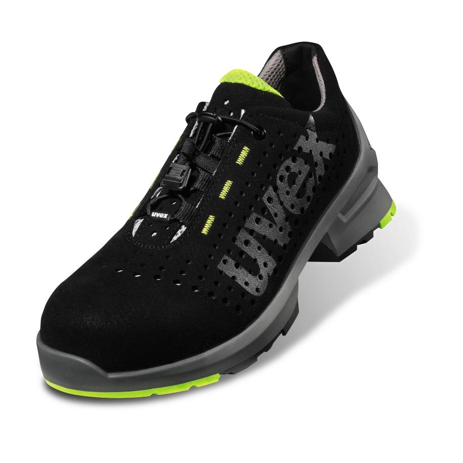 UVEX darba apavi uvex1 85438 S1, 41. izmers, perforeti, elpojosi, PU zole darba apavi