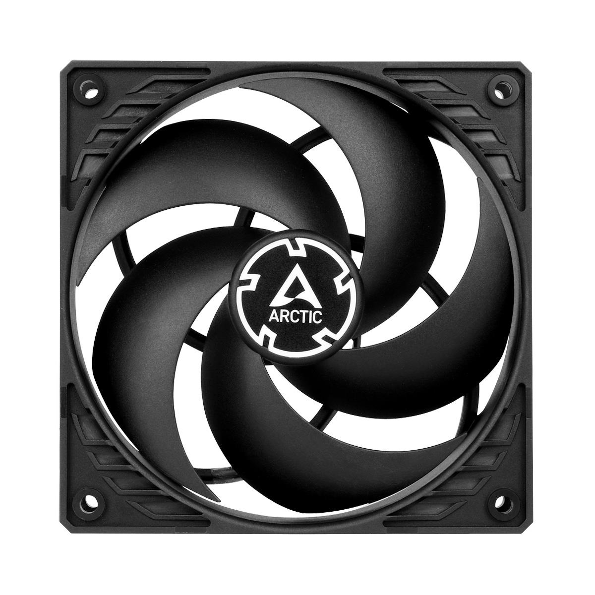 ARCTIC P12 PWM (Black/Black) Pressure-optimised 120 mm Fan with PWM ventilators