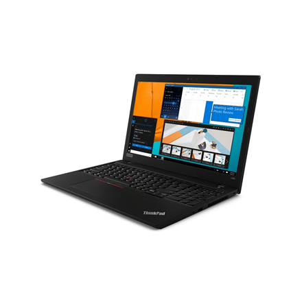 Lenovo ThinkPad L590 Black, 15.6 , IPS, Full HD Maatt, i5-8265U, 8 GB, DDR4, SSD 256 GB, Portatīvais dators
