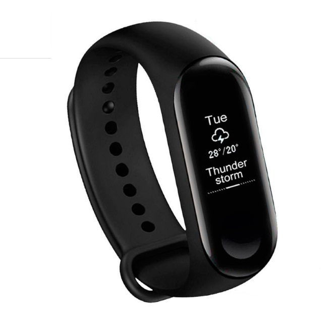 Xiaomi Mi Band 3 Black Viedais pulkstenis, smartwatch